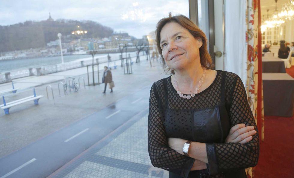 Martine Reicherts, directora general de Cultura y Educación de la UE, en San Sebastián.