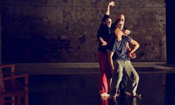 Los bailarines de 'Kokoro', de Lali Ayguadé.