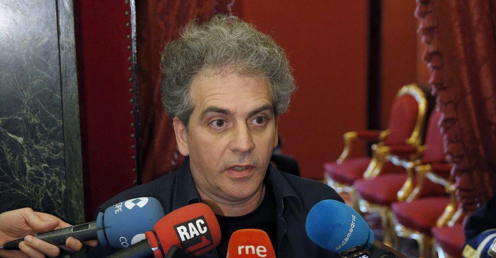 El secretario cuarto de la Mesa del Congreso, Marcelo Expósito Prieto
