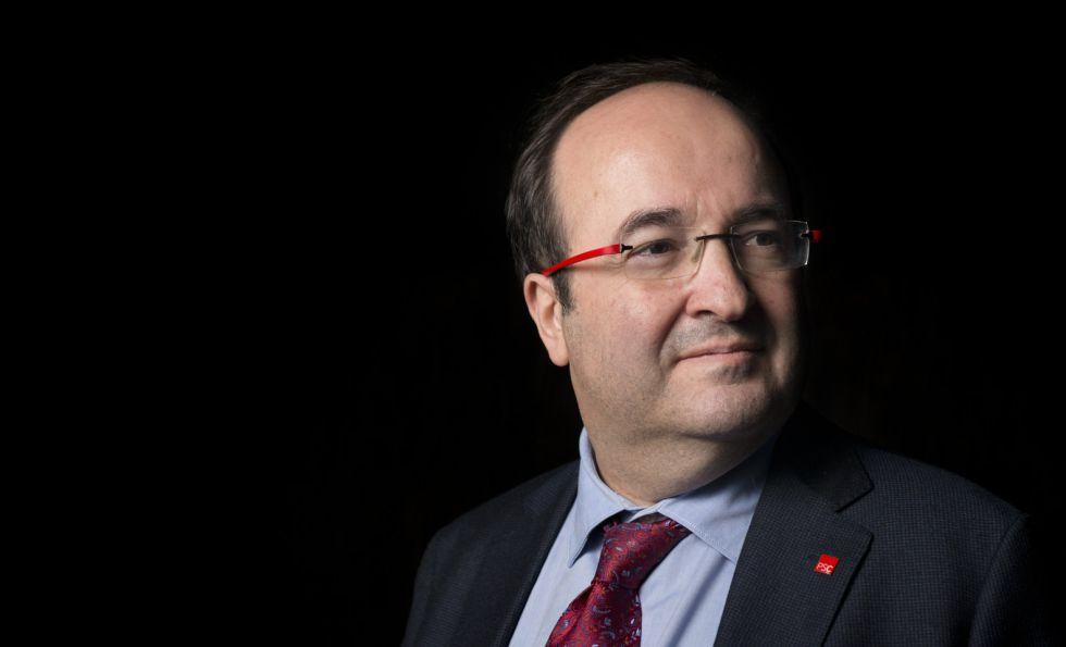Miquel Iceta, líder del (PSC).