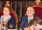 El alcalde de Girona promete el cargo en un nuevo pleno