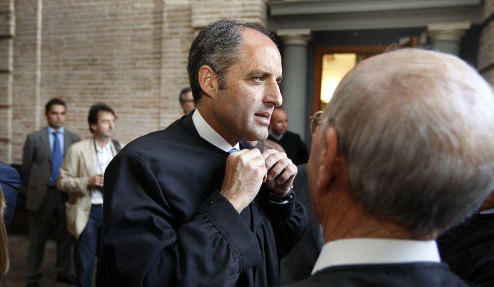 El expresidente valenciano Francisco Camps en una imagen de archivo.