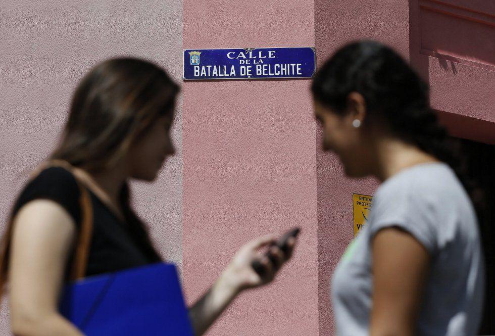 Calle de la Batalla de Belchite