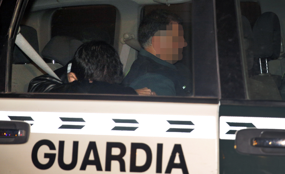 Un detenido por la trama del PP en Valencia llega a los juzgados.