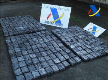 Cocaína interceptada en Vigo