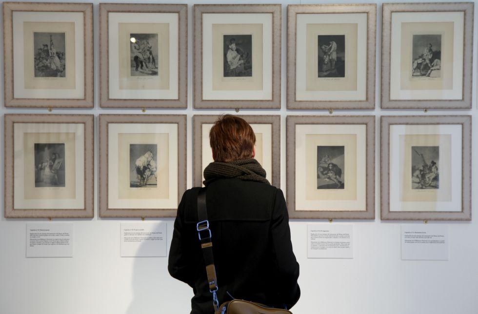 Exposición de Grabados de Goya en el Centro Cultural Padre Vallet.