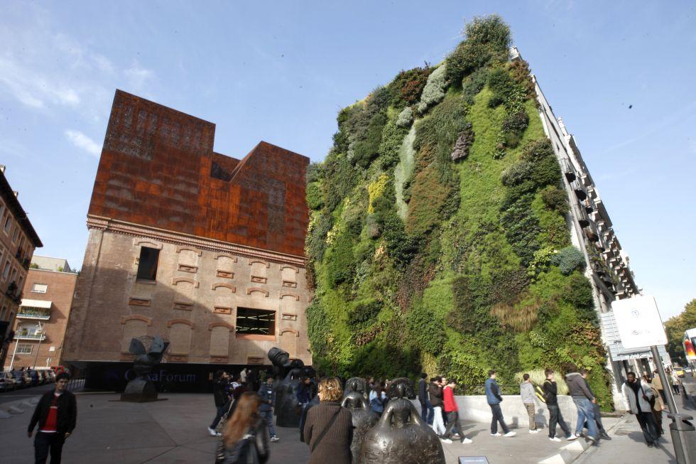 Jardines verticales a 200 euros el metro cuadrado madrid for Jardines verticales construccion