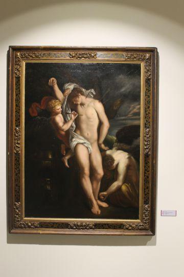 'El martirio de San Sebastián', anónimo.