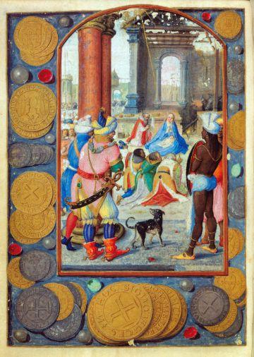 Una de las ilustraciones digitalizadas para la exposición.