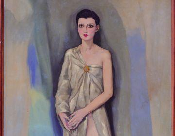 La pintura 'Dama chic de París', de 1929.