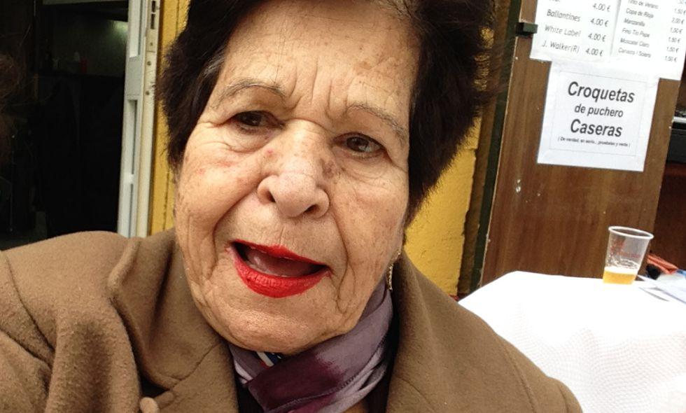 María La Hierbabuena en el Carnaval de Cádiz 2015