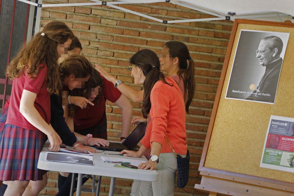 El colegio La Vall, uno de los centros que segregan por sexo.