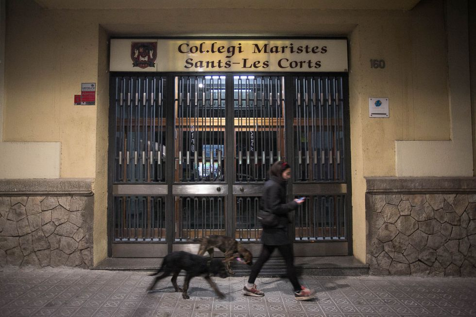 Abuso a menores en el colegio Maristes del barrio de Sants