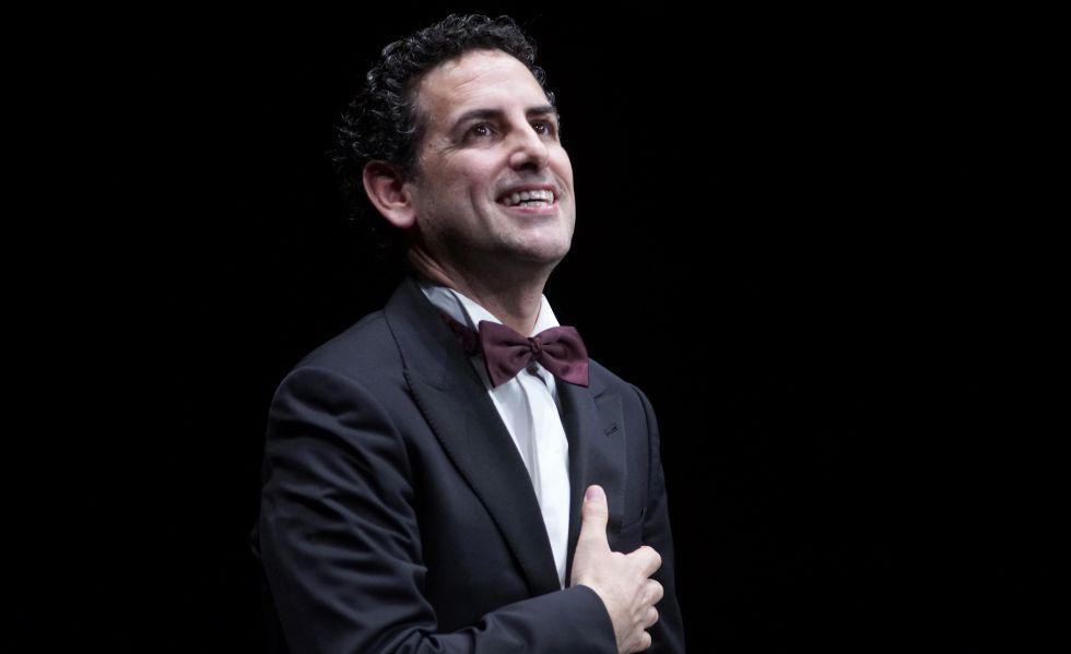 Juan Diego Flórez durante una actuación.
