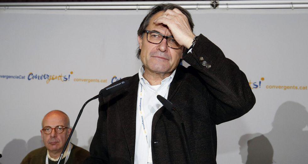 El expresidente catalán y líder de CDC, Artur Mas.