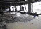 El temporal causa daños en San Sebastián, Zarautz y Bermeo