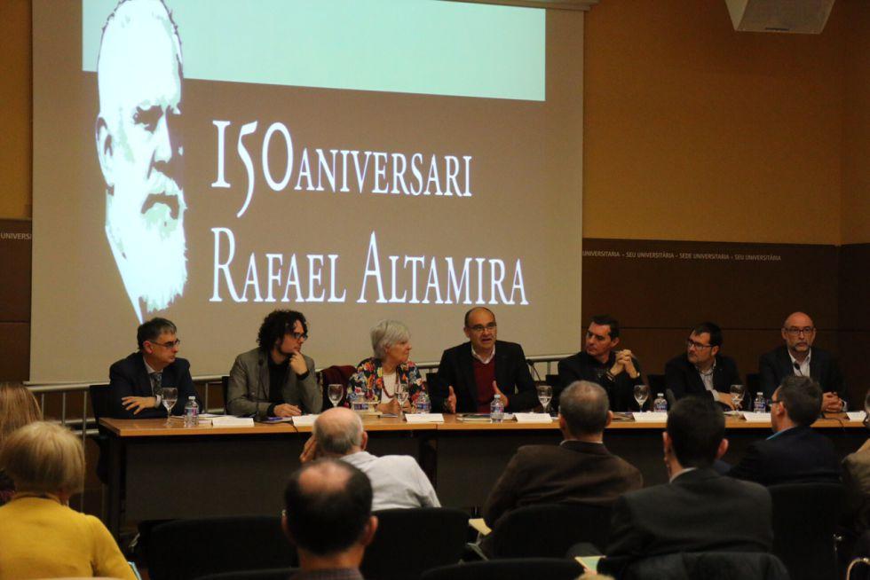 150 aniversario de Rafael Altamira
