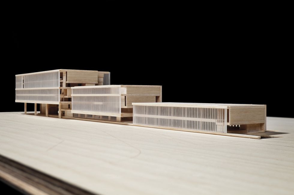 Proyecto de la Biblioteca Provincial de Barcelona