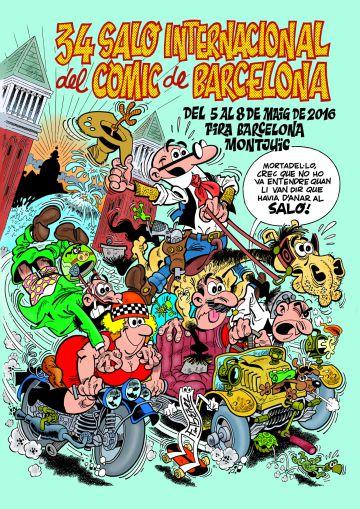 El cartel de este año realizado por Ibáñez.