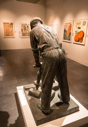 'El martell pneumàtic', una de las obras expuestas en el Muvim.
