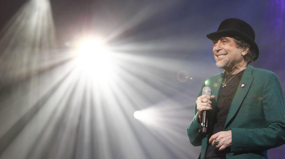 Joaquín Sabina, durante un concierto en Madrid.