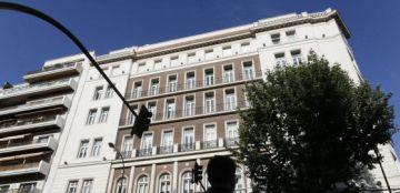 Edificio situado en la calle Velazquez 2 barrio de Salamanca Madrid.