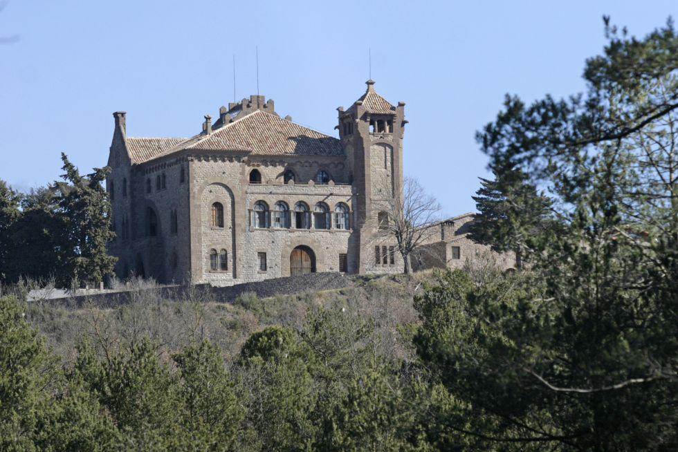 El castillo de Rocabruna.
