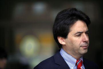 Percival Manglano en 2012, cuando era consejero de Economía y Hacienda en la Comunidad.