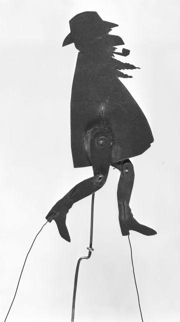Una de las sombras chinescas de Ramon Casas.