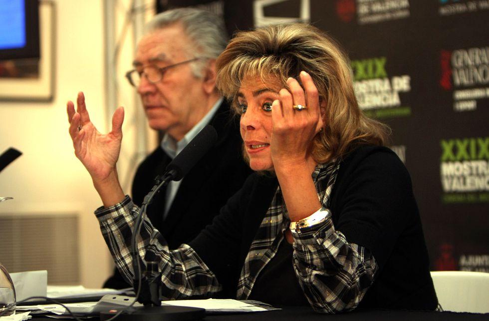 La exconcejal de Cultura de Valencia, María José Alcón.
