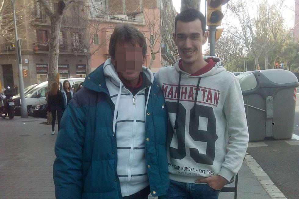 Laso junto a Diego Bernal.