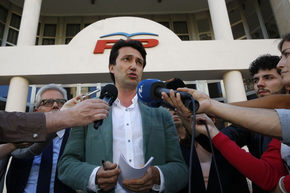 Vicente Betoret, presidente del PP de la provincia de Valencia.