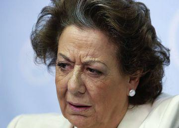 Rita Barberá no acude a las Cortes Valencianas a explicar el 'caso Taula'