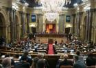 Las tres leyes de ruptura inician su andadura en el Parlament