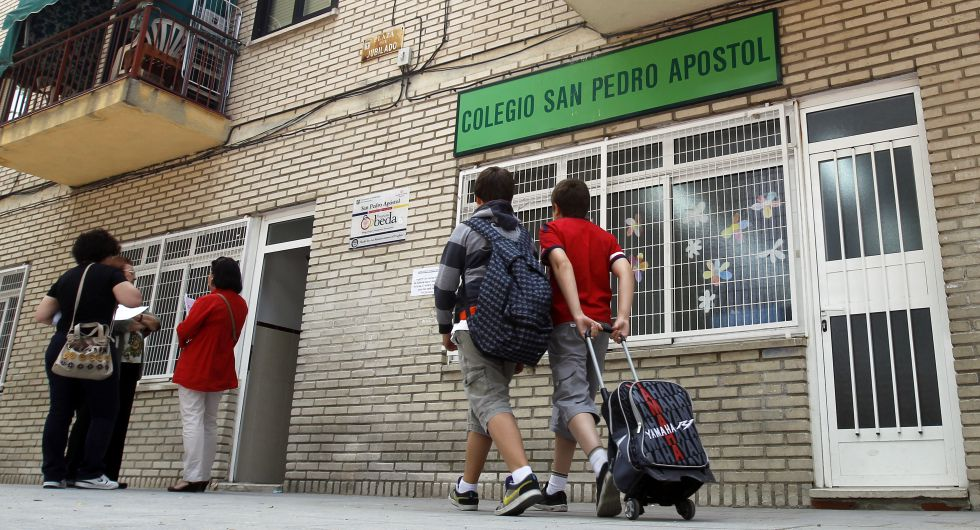 Los concertados tendrán que reservar plazas todo el curso para alumnos con dificultades