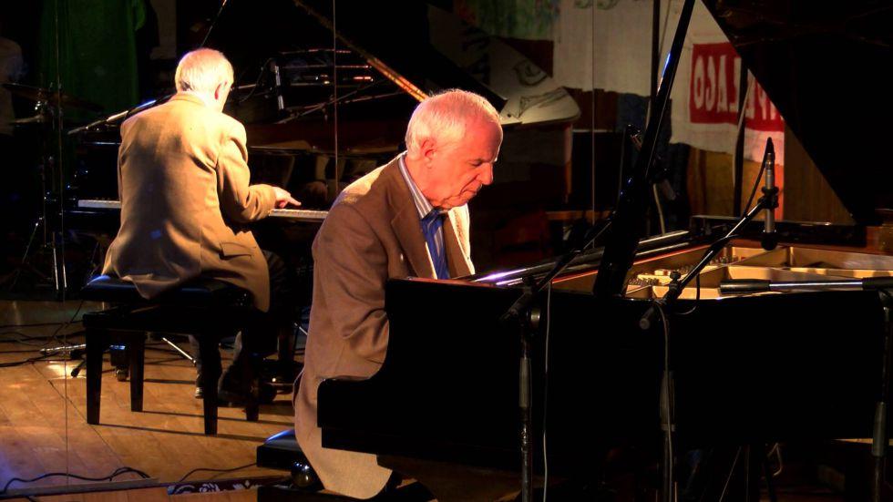 El pianista Franco D''Andrea.