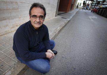 Josep Romero lleva 8 años buscando un empleo.