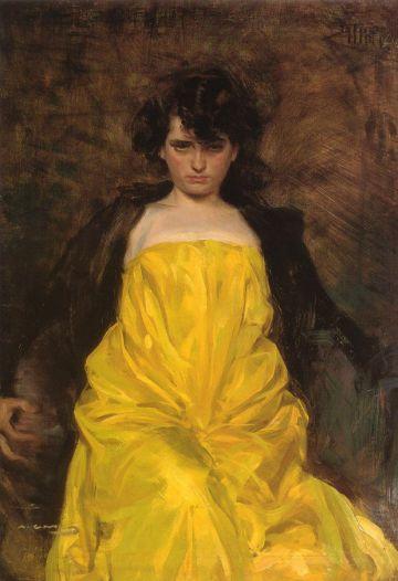 'La Sargantain' pintado en 1907 por Ramon Casas para el Liceo.