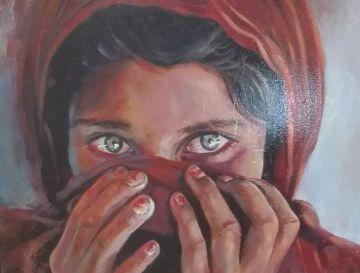 Una de las obras del artista José Luis Ponce.