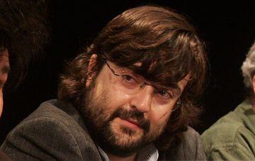 El editor Miguel Aguilar.