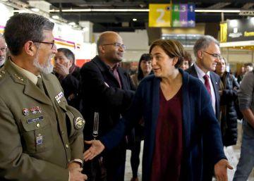 """Ada Colau, al Ejército: """"Preferimos que no haya presencia militar"""""""