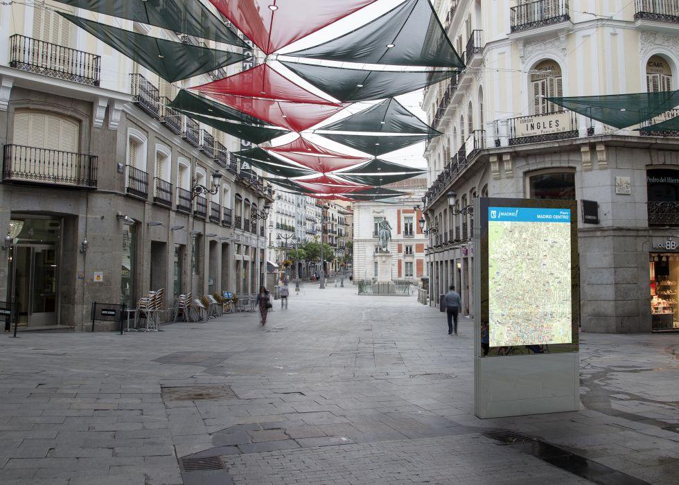 Madrid contar con 130 aseos p blicos en las calles a - Mobiliario urbano madrid ...