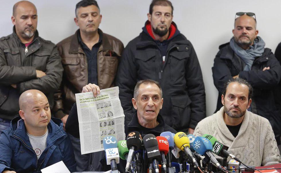 Huelga de basura en Malaga