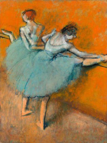 'Bailarinas en la barra', de Degas, comprada por Duncan Phillips en 1944.