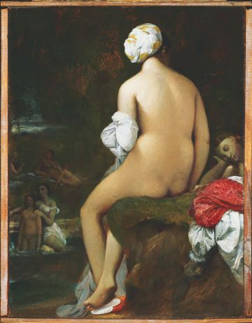 'La pequena banista', de Ingres, perteneciente a la Phillips Collection.