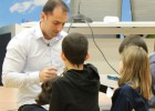 'Perroterapia' para aliviar el dolor asociado al estrés en niños