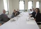 Cinco alcaldes en el Palacio de Cibeles