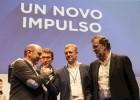 Rueda releva a Louzán en el PP de Pontevedra con un 97% de los votos