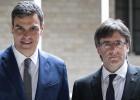 """Sánchez: """"Hemos abierto una etapa de deshielo con la Generalitat"""""""