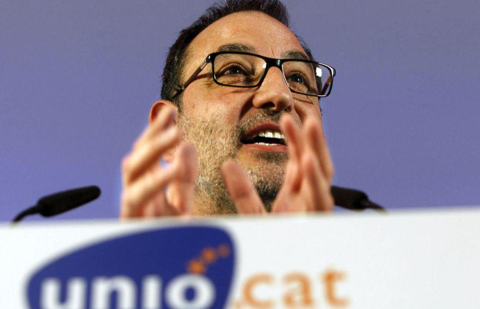El secretario general de Unió, Ramón Espadaler.